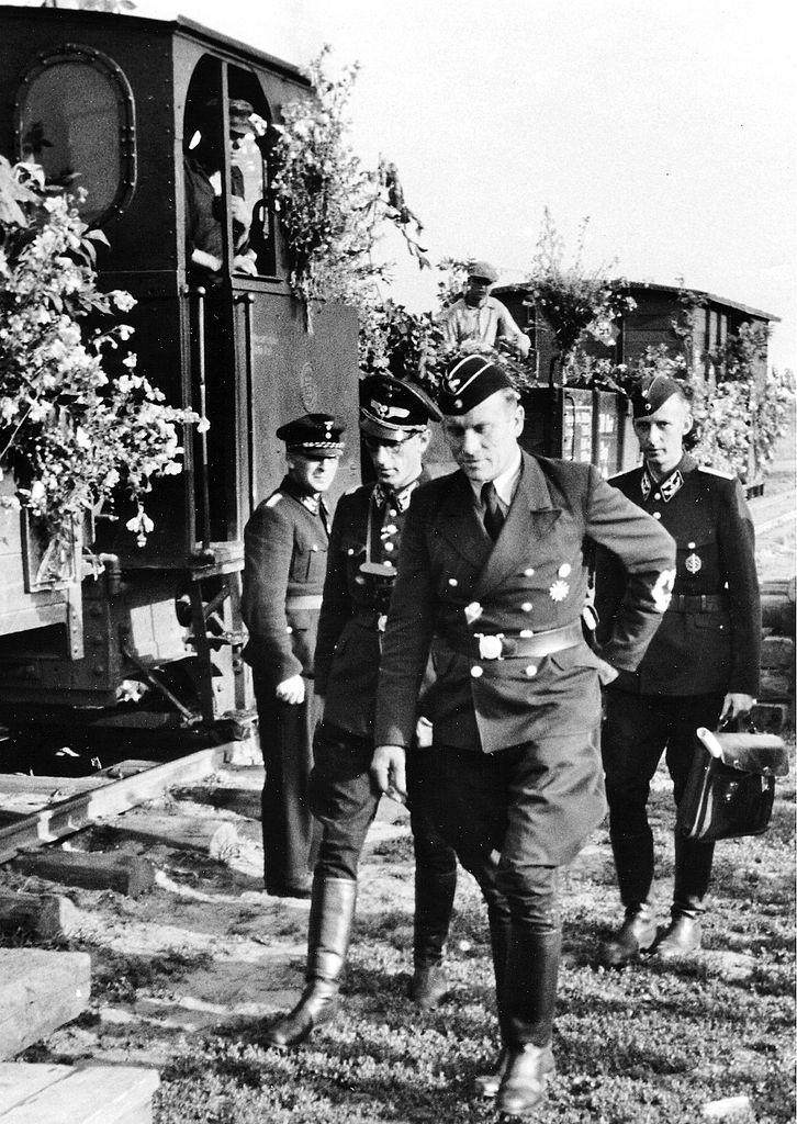 Albert Ganzenmüller bei Cherson