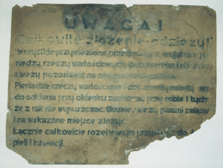 Belzec 1. Photo Credit: United States Holocaust Memorial Museum, courtesy of Muzeum Regionale w Tomaszow Lubelski