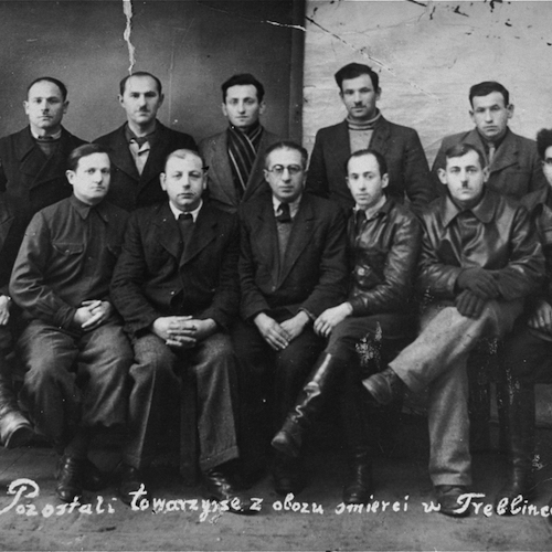 Group of participants in the Treblinka uprising