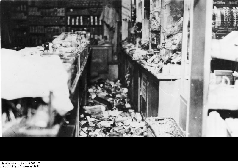 Bundesarchiv Bild 119-2671-07, München, Kaufhaus Uhlfelder, Zerstörungen